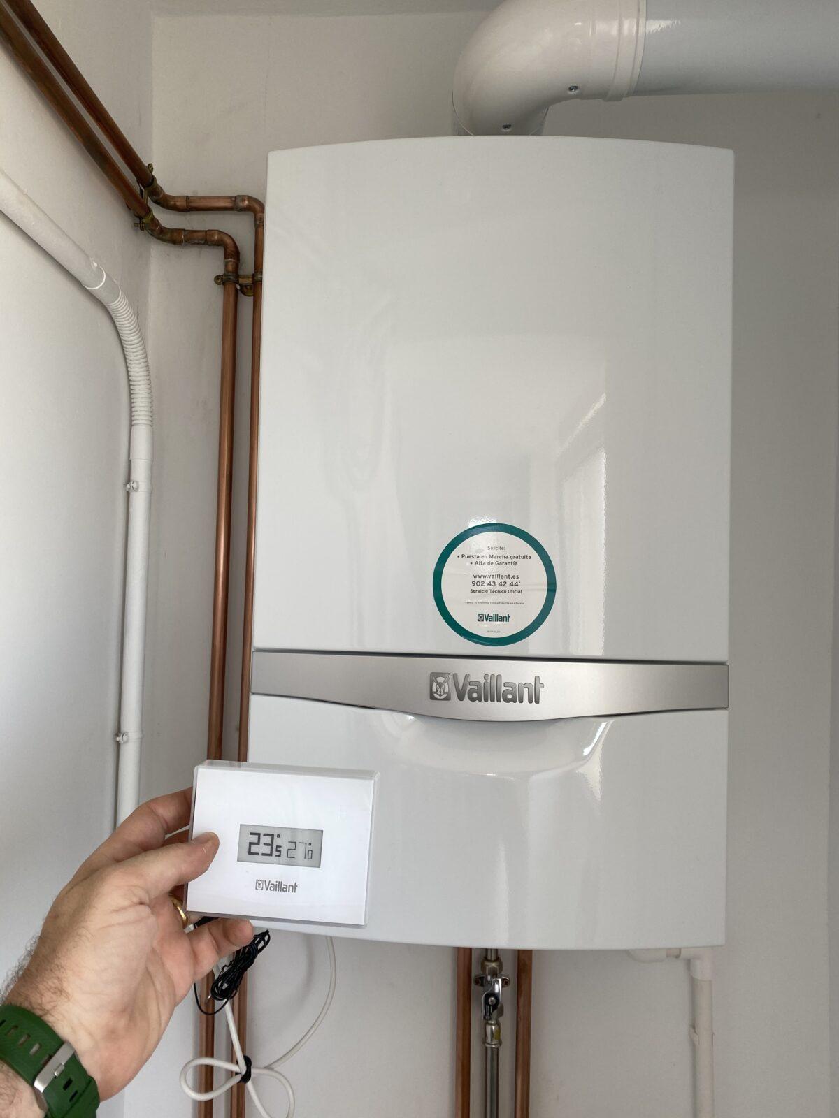 Calefacción completa e instalación de Gas Natural con acero inoxidable
